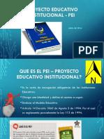 Proyecto Educativo Institucional - PEI