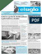 Edición Impresa El Siglo 12-09-2016