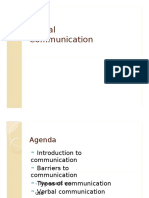 Verbal Communication 2