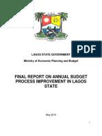 2.1.3 LASG MEPB Budget Process Improvement