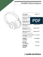 ATH-SR5BT Manual
