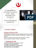 Oncenio - Nuevos Partidos