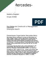 MERCEDES BENZ Proiect Managementul General