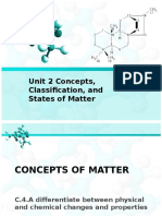 unit 2 concepts classification and states of matter