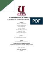 Plan Estratégico RR. PP. Centro Artesanal Machala.
