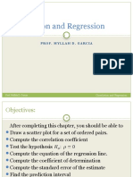 Correlation and Regression (1)
