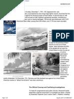 Betrayal at Pearl Harbor