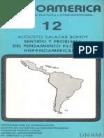 Salazar Bondy. Sentido y problema del pensamiento filosófico Hispanoamericano.pdf