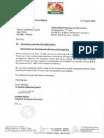 Presentation on the Composite Scheme of Arrangement [Corp. Action]