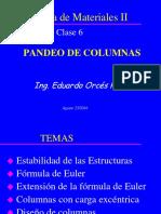 Clase RMII_ 6 (Pandeo de Columnas)