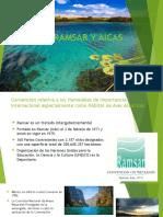 Sitios Ramsar y Aicas