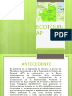 Presentación Ecotour- AP