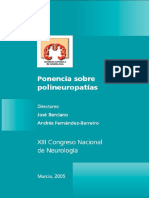 Ponencia Polineuropatias Murcia 2005