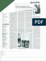 Publicacion La Patria Cervezas