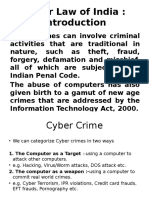 1st lecture ppt on intro of cyber crime