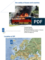 Improving Fire Safety of Buses and Coaches