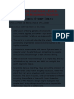 Plot Ideas - Part 2 - Apocalypse