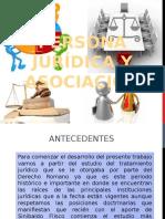 Persona Jurídica y Asociación