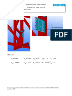 Mathcad - Brace connection.pdf