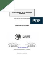 Evolution Modem TCPIP Functionality