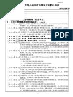 工程施工查核小組查核品質缺失扣點紀錄表(990301版)[1]
