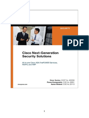 Cisco Next-Generation Security Solutions All-In-One Cisco