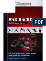 War Machine training manual