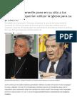 El Obispo de Tenerife Pone en Su Sitio a Los Masones Que Querían Utilizar La Iglesia Para Su Provecho - Actuall