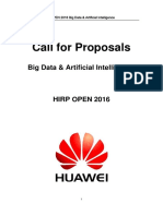 HIRP 2016 Big Data Artificial Intelligence
