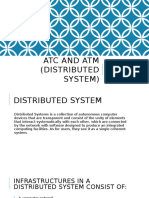 ES - ATC and ATM (Distributed System)