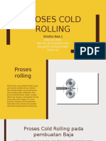 Cold Rolling Steel