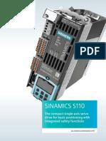Sinamics s110 Brochure
