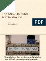 18-TIA606 Admin Standard