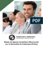 Máster de Agente Inmobiliario (Reconocido por la Generalitat de Catalunya) (Online) (Promoción Letsbonus)