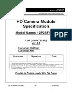 Liteon Camera ModulePK40000QW00