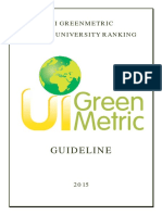 UI Greenmetric Guideline 2015