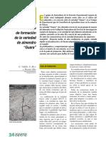 Poda de Formacion de La Variedad de Almendro - Guara