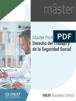 Master Profesional en Derecho del Trabajo y de la Seguridad Social