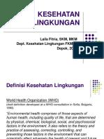 Kesehatan Lingkungan_Laila Fitria