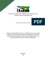 LOGISTICA TRANSPORTE FLUVIAL - PORTO MAJONAVE- PARTE 1