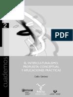 Giménez Romero- El Interculturalismo