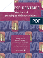 Prothese Dentaire - Principes Et Strategies Therapeutiques
