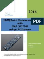 UART Communication in LPC1769
