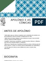 A Construção Da Parábola Por Apolônio