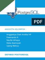 Presentasi mengenai PostgreSQL