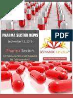 Report on Pharma Sector