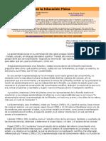 Portela Guarín, La Epistemología en La Educación Física