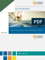 GDC Telecom Company Presentation 2016