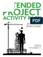 Extended Project Activity Pack