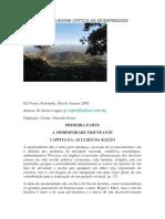 Resumo - Crítica da Modernidade - Touraine.pdf